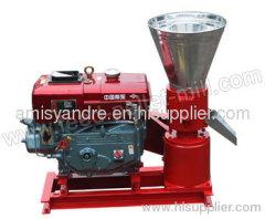Diesel Flat Feed Pellet Mill