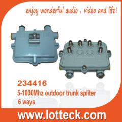 6-way outdoor trunk splitter