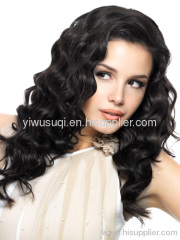 afro curly synthetic hair wig .hair weave hair extensions