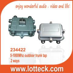 Outdoor Splitter 2-way Tap