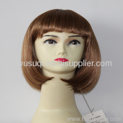bob wig for party wig .football fans wig