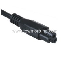 IEC C5 connector for laptop