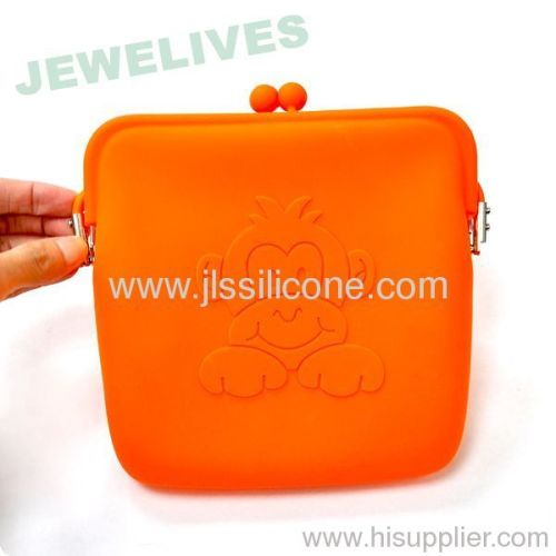 Silicone Cosmetic Pouch in Pop selling