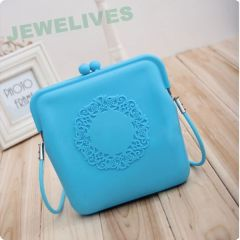 Jewelives Rubber Cosmetic Purse in Pop selling