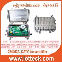 CATV line extender amplifier