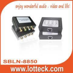 100m1080i Y/PB/Pr Video+Digital Audio extender over Cat5/5e/
