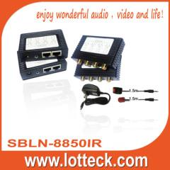 100m/1080i Y/PB/Pr Video+Digital Audio+IR extender over Cat5