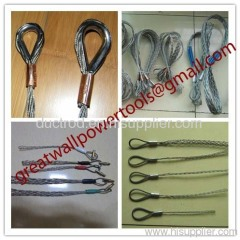 Cable grip,Cable socks,Pulling grip,Support grip