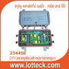 CATV line amplifier with return transmission