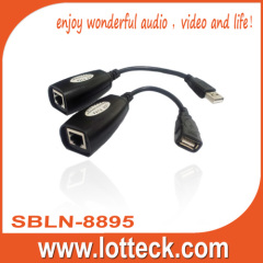 50m USB extender over lan cable/cat5/5e/6