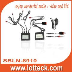 300m 4 ways IR extender over lan cable cat5/5e/6