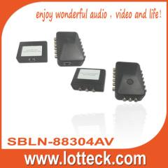 150m/480P 1×4Video+L/R Audio extender over lan cable cat5/5e