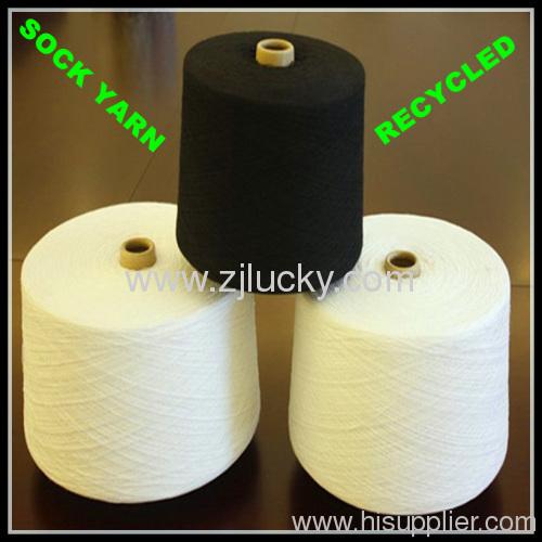 recycled dyed socks yarn