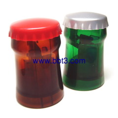 New bottle shape plastic promotional opener
