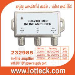 232985A/B/C 20db in-line amplfier