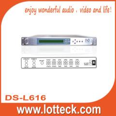 Professional digital receiver decoder
