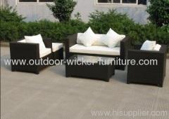 Patio garden rattan sofa sets
