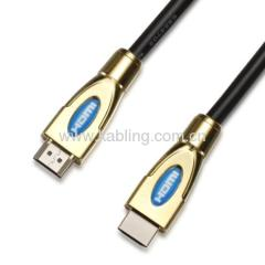 HDMI Cable A Type Male to A Type Male With Zn Metal Shell