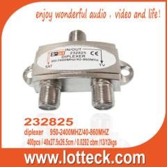 232825 UHF VHF antenna and satellite signals combiner