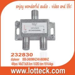 232830 UHF/VHF and satellite signals combiner