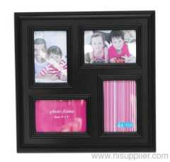 Plastic Injection Photo Frame ,4X6-4 opening