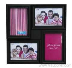Plastic Injection Photo Frame, 4X6-4 opening