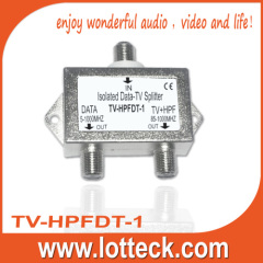 CE Approved Isolated Data-TV splitter