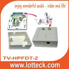 TV-HPFDT-2 Isolated Data-TV splitter