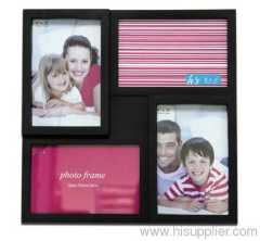 Plastic Injection Photo Frame, 4X6-2&6X4-2 opening,meansures 28.5X28.5X2.5CM