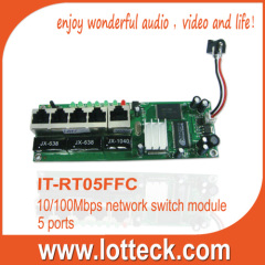 Fast 5 10/100Mbps port Broadband Router Module