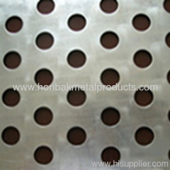 Stainless steel Perforated Metal Sheet round hole