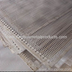 Punching Perforated Metal Pannel