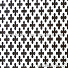 Perforated punching steel pannel