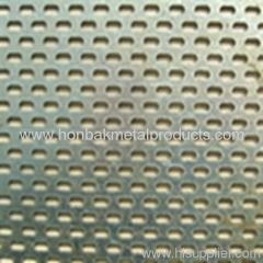 Perforated punching stainless steel plate