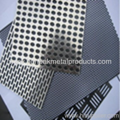 Perforated punching stainless steel pannel