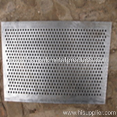 Perforated punching stainless steel sheet