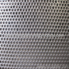 Perforated punching stainless steel plate sheet