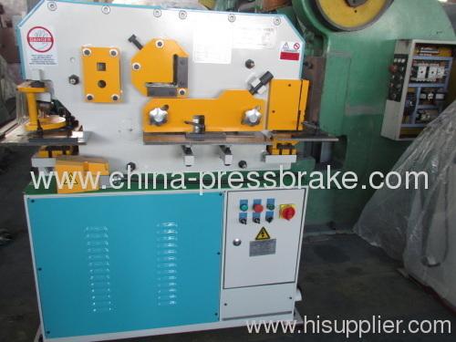 multi functional hydraulic ironworkers machine