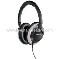 Bose AE2 Audio-Ear Headphones--Black+Silver