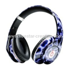 Monster Beats Blue Lightning Headphones