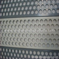 Perforated punching alloy plate sheet