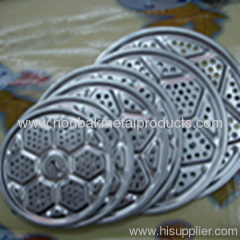 Perforated punching decoration pannel