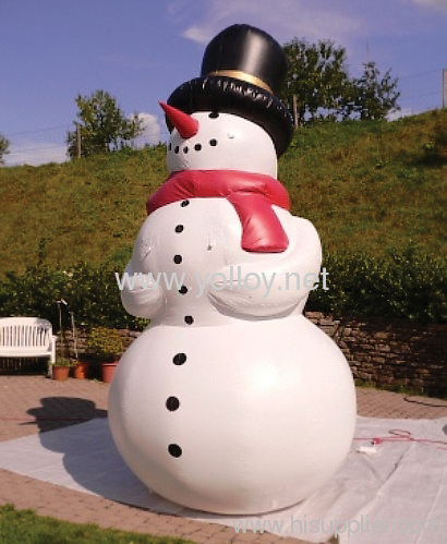 blow up snowman huge inflatables christmas decoration cm 041 manufacturer from china yally industrial colimited - Huge Inflatable Christmas Decorations