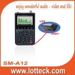 LOTTECK Digital satellite finder meter with USB port