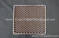 copper grill topper BBQgrill netting