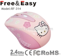 Wifi hello kitty mouse wireless for kids