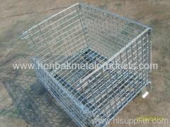 metal storage cage warehouse metal storage folding cage