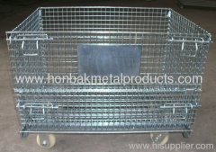 metal stainless steel storage cage