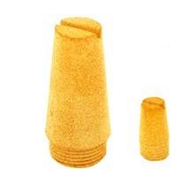 bronze muffler sintered silencer filter elment DSL-01 02