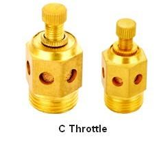 pneumatic muffler silencer sintered bronze filter element C